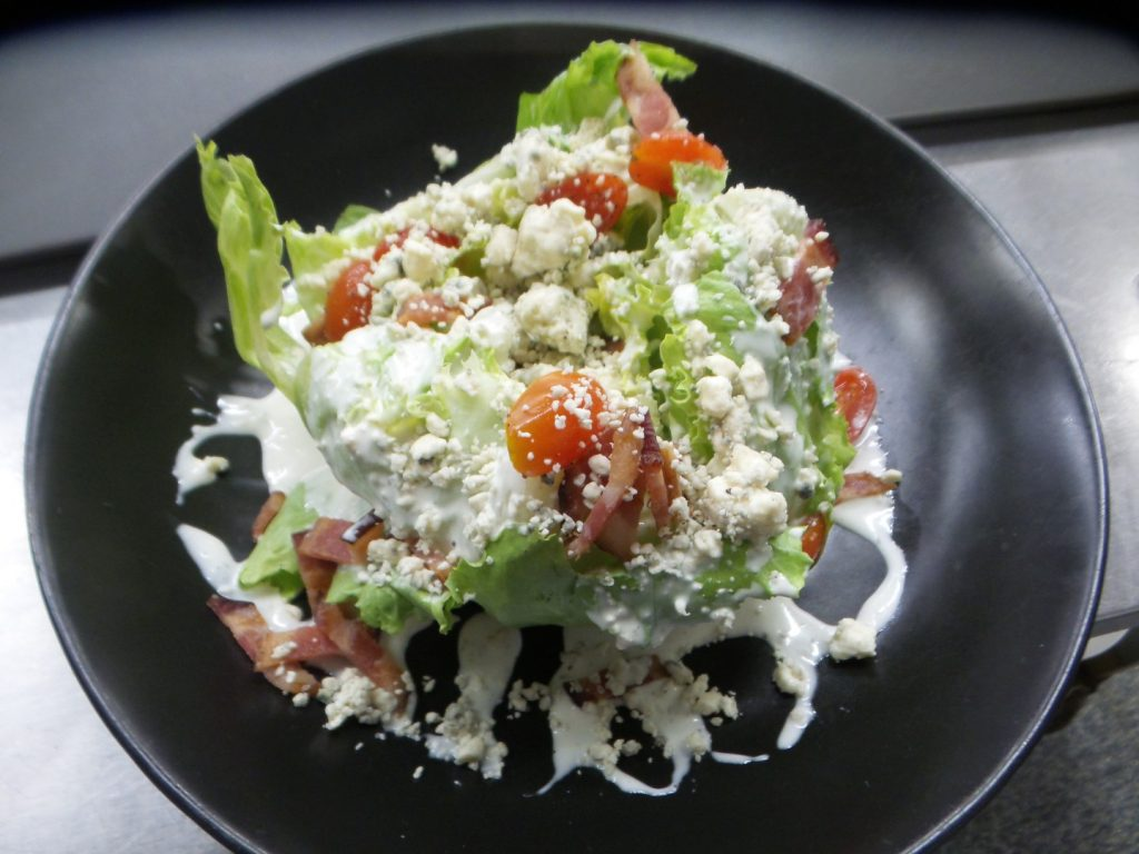 Wedge Salad at AQUA Restaurant