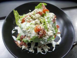 Wedge Salad at AQUA Restaurant