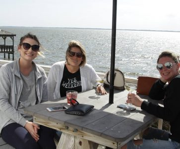Lunch on the Waterfront at AQUA Restaurant