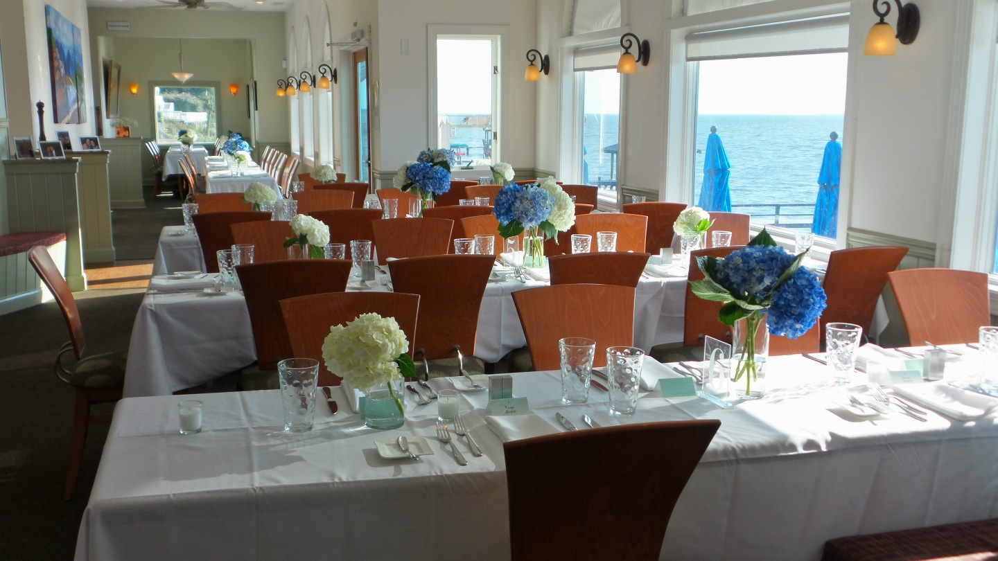Waterfront Wedding Receptions at AQUA Restaurant