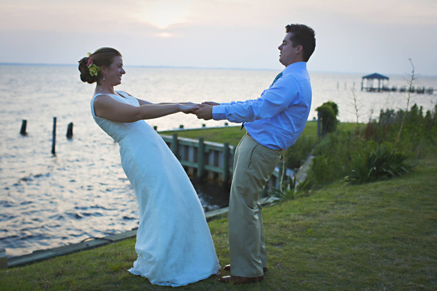 Sunset Weddings at AQUA