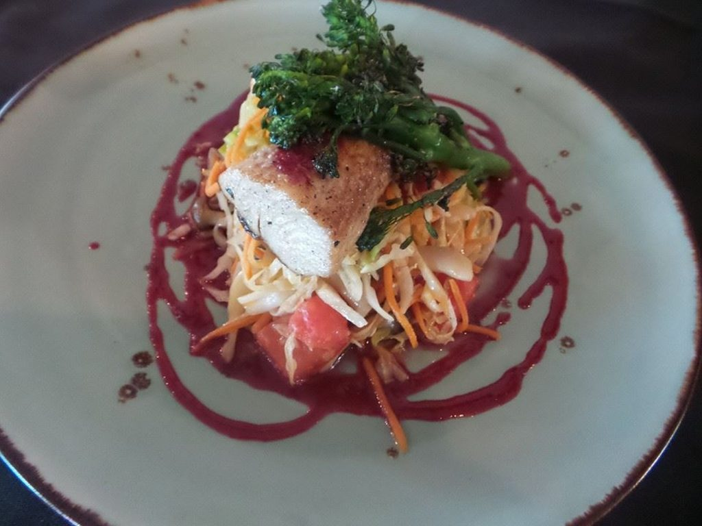 Mahi Lunch Special at AQUA Restaurant