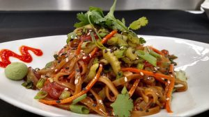 Yellowfin Tuna Sesame Soy Noodles
