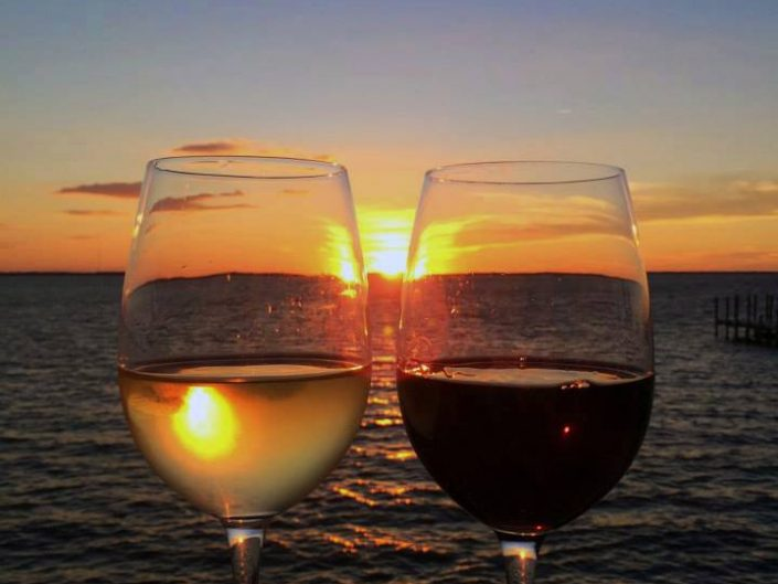 Enjoy Wine and Sunsets at AQUA Restaurant