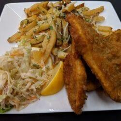 Fish & Chips at AQUA Restaurant
