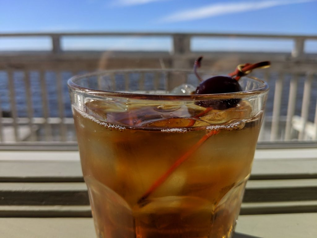Soundside Manhattan with Basil Hayden's Bourbon