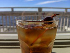 Soundside Manhattan with Basil Hayden's Bourbon