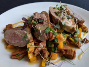 Have You Tried Our Mouthwatering Seared Maple Leaf Farms Duck?