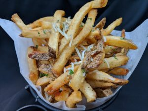 Hand Cut Truffle Fries at AQUA Restaurant Duck NC