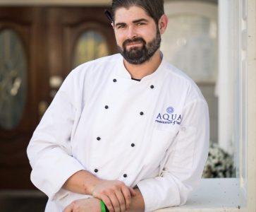 AQUA Restaurant Executive Chef Cory Bryant