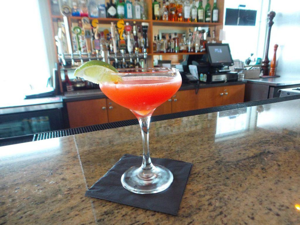 Flu Shot Martini Hand Crafted at AQUA Restaurant