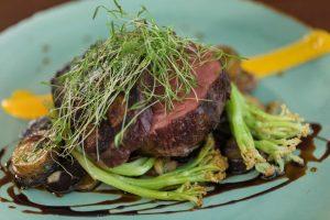 Steak Dinner at AQUA Restaurant Duck NC
