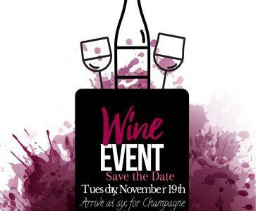 AQUA Restaurant's November 2019 Wine Event