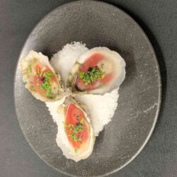 Oysters on our Tapas Menu