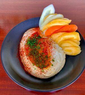 AQUA Restaurant Duck NC Dinner Baba Ghanoush