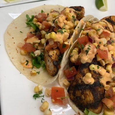 Grilled Mahi Fish Tacos