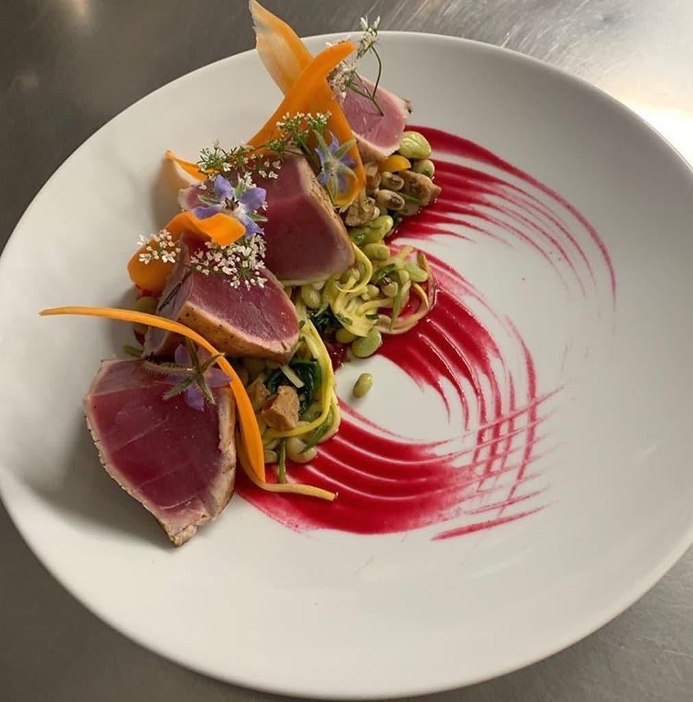 Local Bigeye Tuna AQUA Restaurant Duck NC