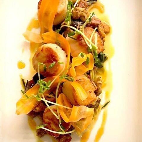 Scallop Special at AQUA Restaurant