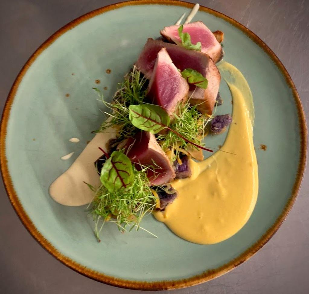 Tuna Special at AQUA Restaurant