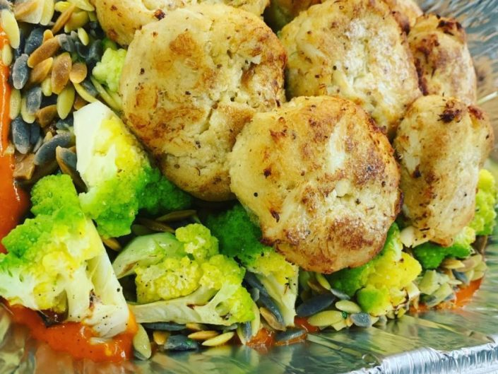 Family Style Crab Cakes