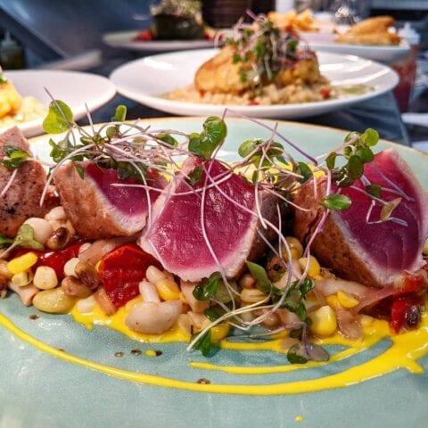 Big Eye Tuna Duck NC Restaurant